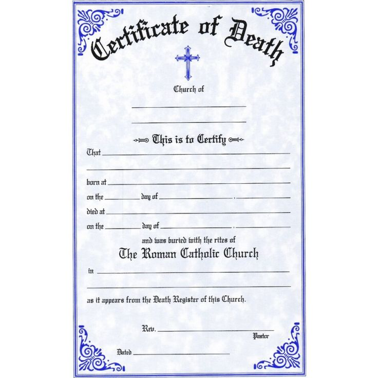 The 12 best Death Certificate images on Pinterest | Death ...