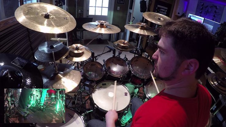 Alex Cohen - Improvised Drum Solo - Linear Independence