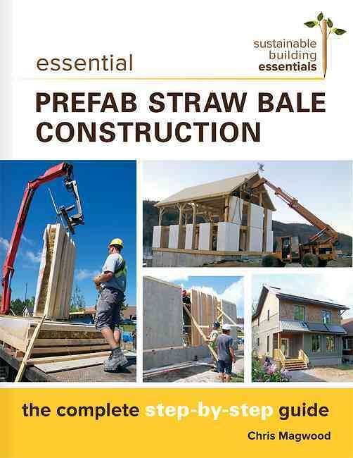Prefabricated straw bale wall panels combine the performance and low…