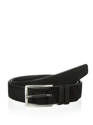 78% OFF Mezlan Men's Suede Belt (Black)