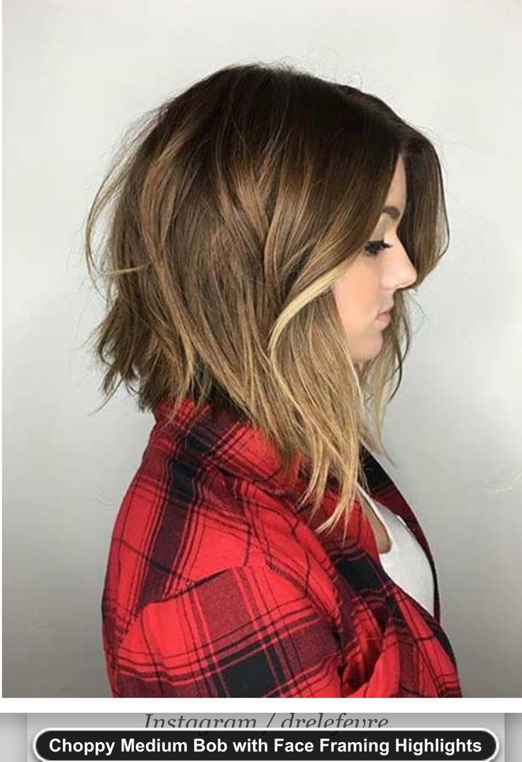 Medium choppy inverted bob , long bob   DEFINITELY THINKING AB THIS HAIRCUT