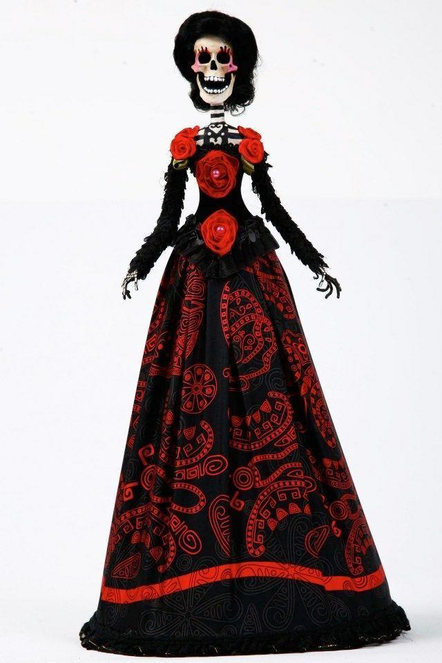 Catrinas Pinedacovalin Vestidos De Catrinas Disfraces De