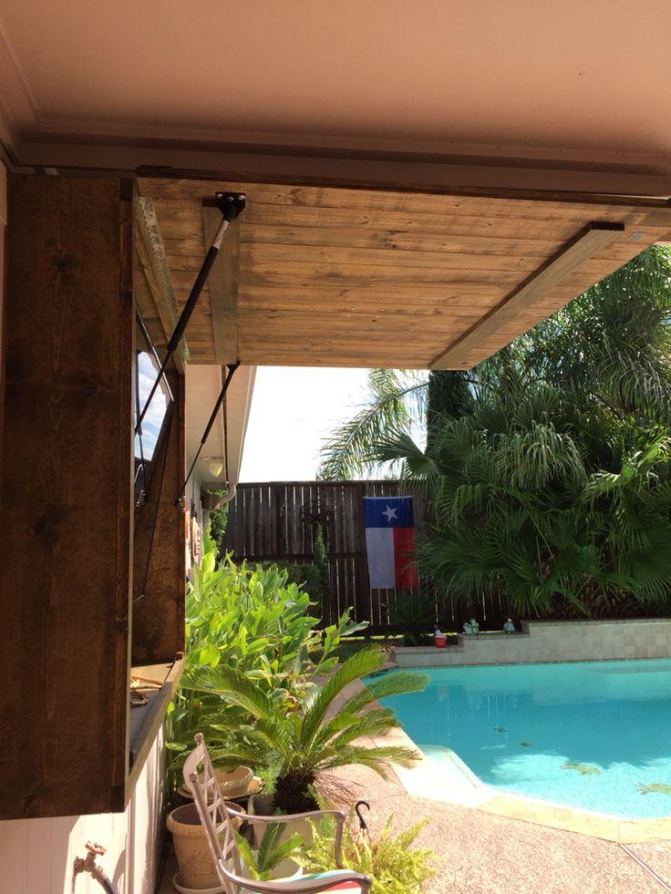 20 15lb gas struts holding door up outdoor tv cabinet outdoor tv patio on outdoor kitchen tv id=65838