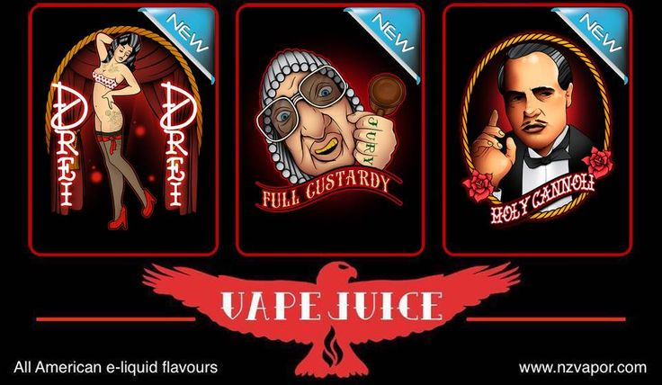 New VAPEJUICE e-liquid flavours! Available now!