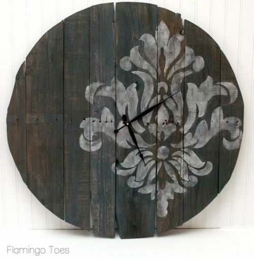 innovation wooden wall clock. An Easy Approach Towards a Wooden Pallet Wall Art 52 best Clock images on Pinterest  clock Diy