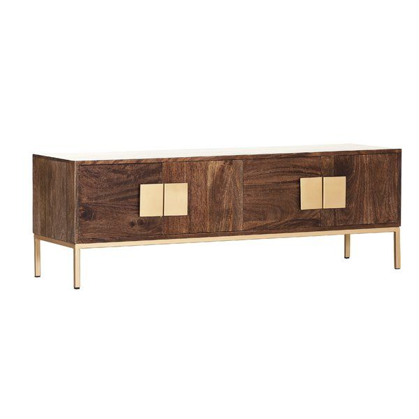 You Ll Love The Nickolas Tv Stand At Wayfair Co Uk Great Deals On All Furniture Products Enjoy Free Uk Delivery Over Tv Stand Tv Stand Decor Tv Stand Gold