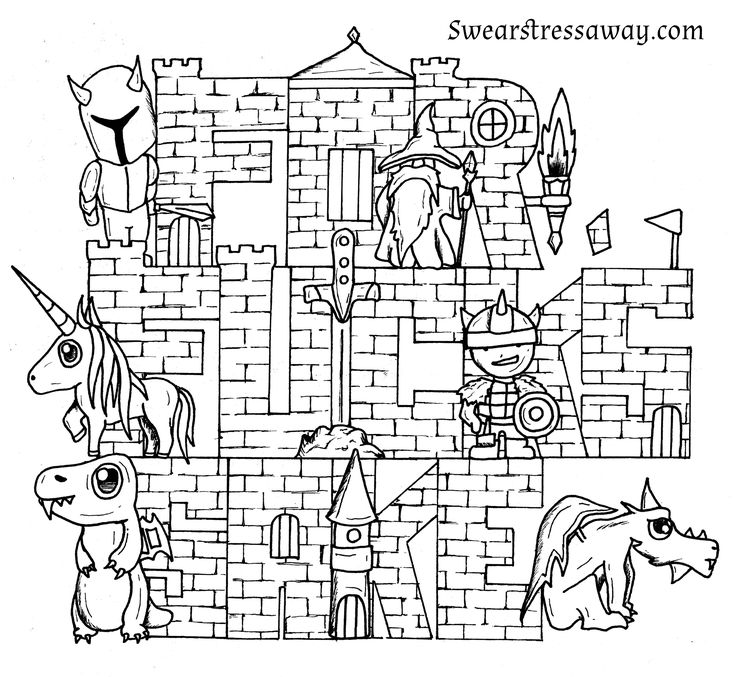302 Best Swear Word Coloring Pages Images On Pinterest