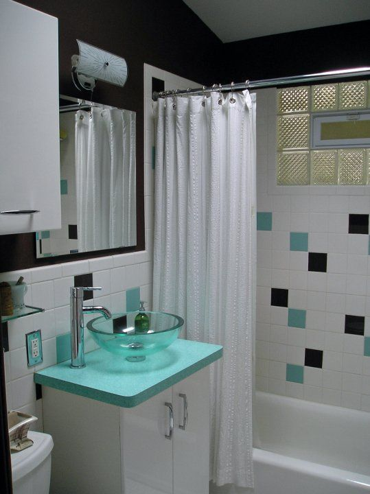 17 Best Images About Fifties Style Atomic Bathroom On