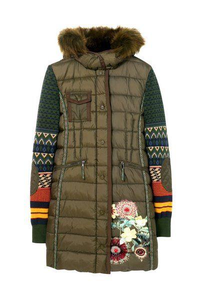 Manteau Michelle Desigual. Découvre la collection automne-hiver2017. Livraison et retours gratuits en boutique !