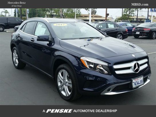 Sport Utility, 2017 MercedesBenz GLA 250 with 4 Door in