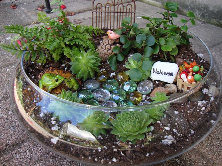 48 Best Miniature Fairy Gardens Images On Pinterest