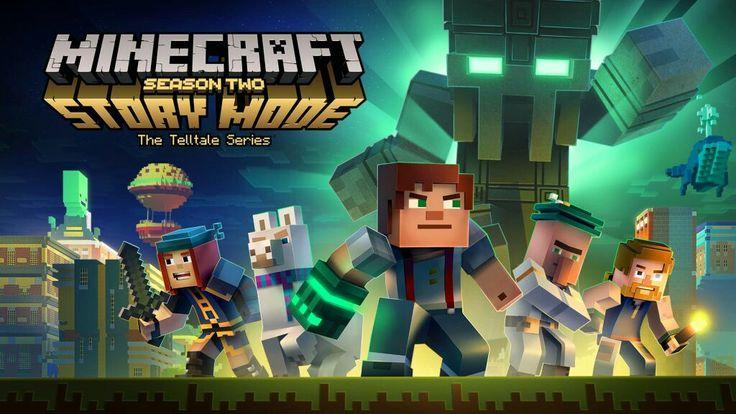 Minecraft Story Mode  Season 2 is already her, soooo get ready!!! 11th Jully