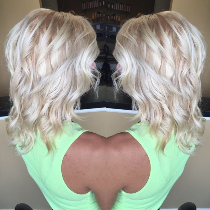 Icy Blonde Hair Whitehair Silverblonde Platnium Hairrr