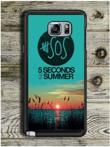 5 Seconds Of Summer (2) Samsung Galaxy Note 5 Case