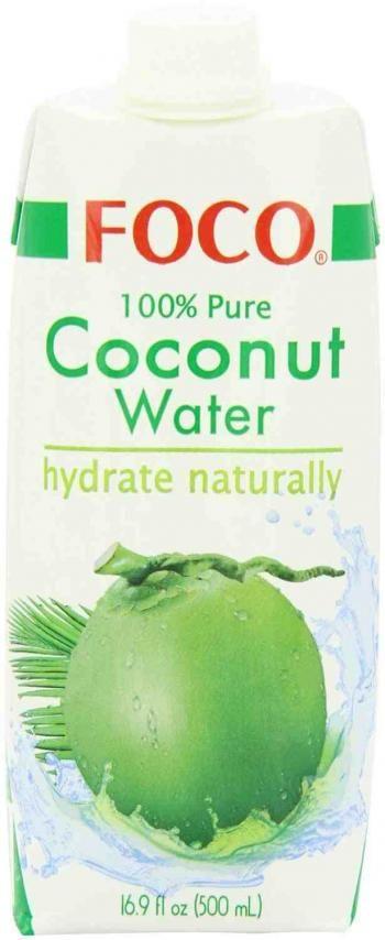 Woda kokosowa 100% naturalna (500 ml) - FOCO