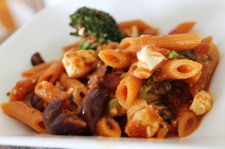 Med Pasta (Delish!)