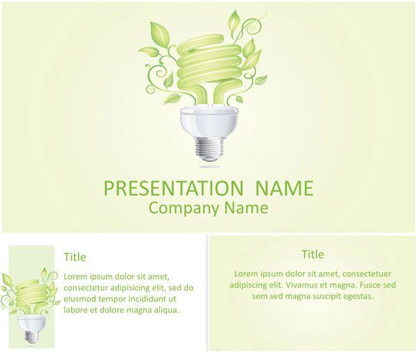 Light Bulb PowerPoint Template