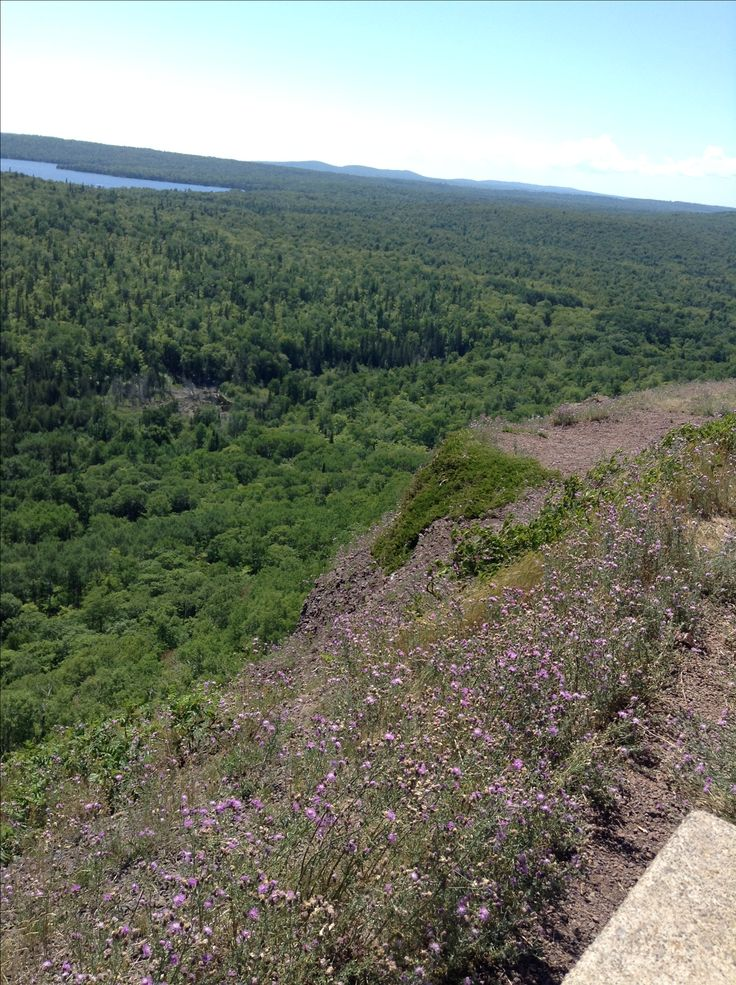 From Brockway Mountain in the Keweenaw Peninsula