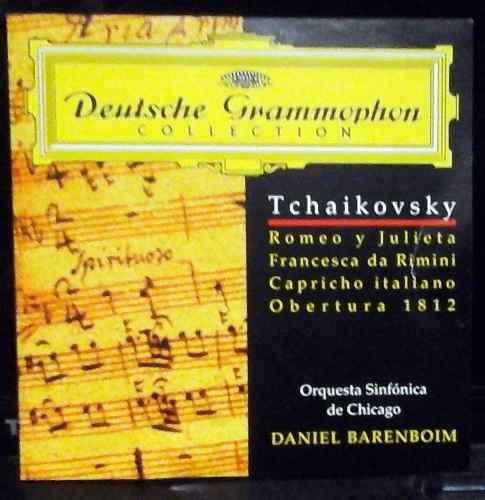 #Tchaikovsy: Obertura 1812 Y Otros - #DanielBarenboim $80