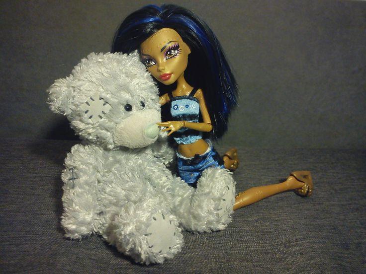Robecca and bear