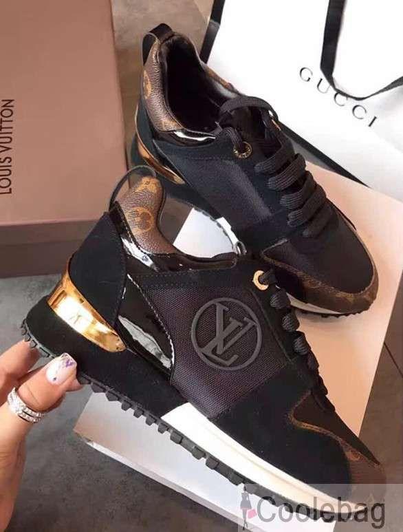 Louis Vuitton Run Away Sneaker 1A3CW4 Black 2017