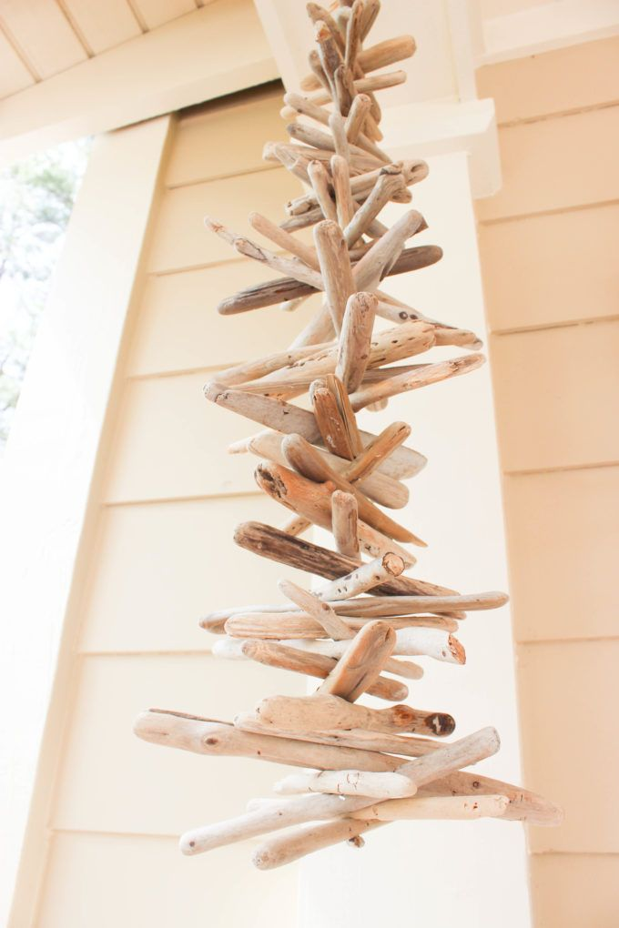 Driftwood Wind Chime Diy Simple