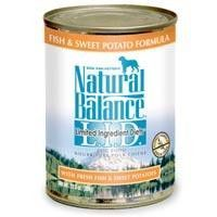 Natural Balance Fish & Sweet Potato Canned Dog Food (Case)