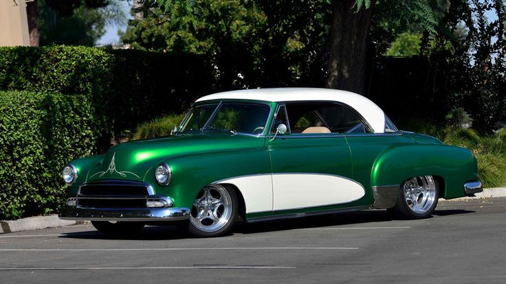 1952 Chevrolet Bel Air Pro Touring 2009 Amsoil/Street Rodder Road Tour Car presented as lot S120 at Anaheim, CA