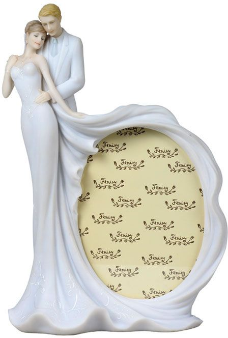 Loving Sculpture With Frame White Gifts For Wedding