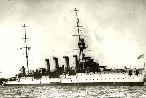 HMAS Sydney 1 commissioned at Portsmouth, United Kingdom 100 years ago on June 26 1913.
