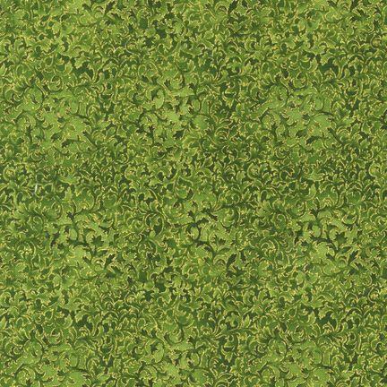 Robert Kaufman Fabrics: EYJM-6644-224 EVERGREEN from Fusions® 6644