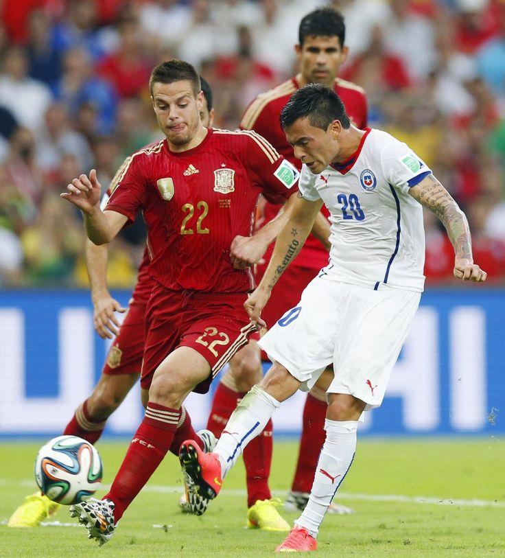 Charles ARANGUIZ, FIFA World Cup Brazil, 2014.6.18