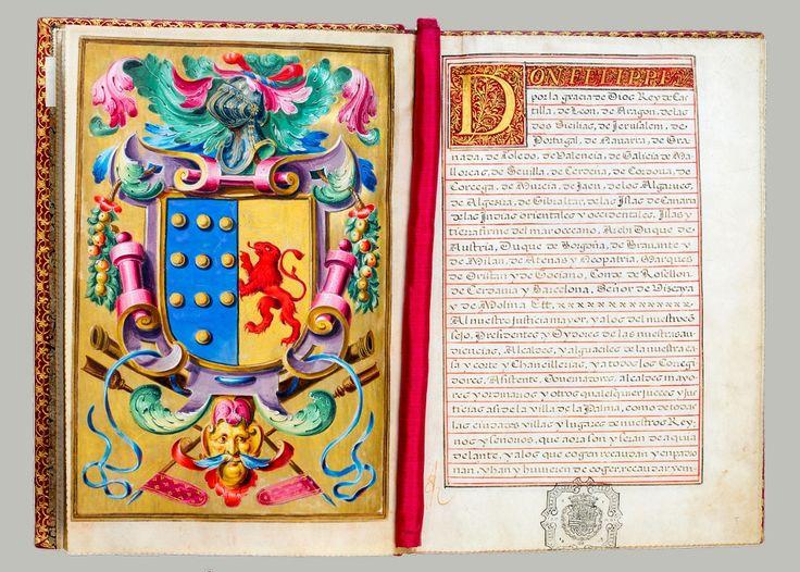 Carta Executoria of King Philip IV of Spain granting to Don Ferdinando de Paz y Medina the lands of Guerar and Mansanilla, 1659, Ossolineum