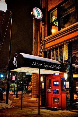 Detroit Seafood Market Restaurant 1435 Randolph St Downtown Restaurants Cafes In 2018 Pinterest And Michigan