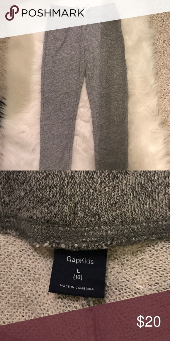 Gap Kids Grey Joggers girls Grey Joggers from Gap size L (10) no stains good condition Bottoms Sweatpants & Joggers
