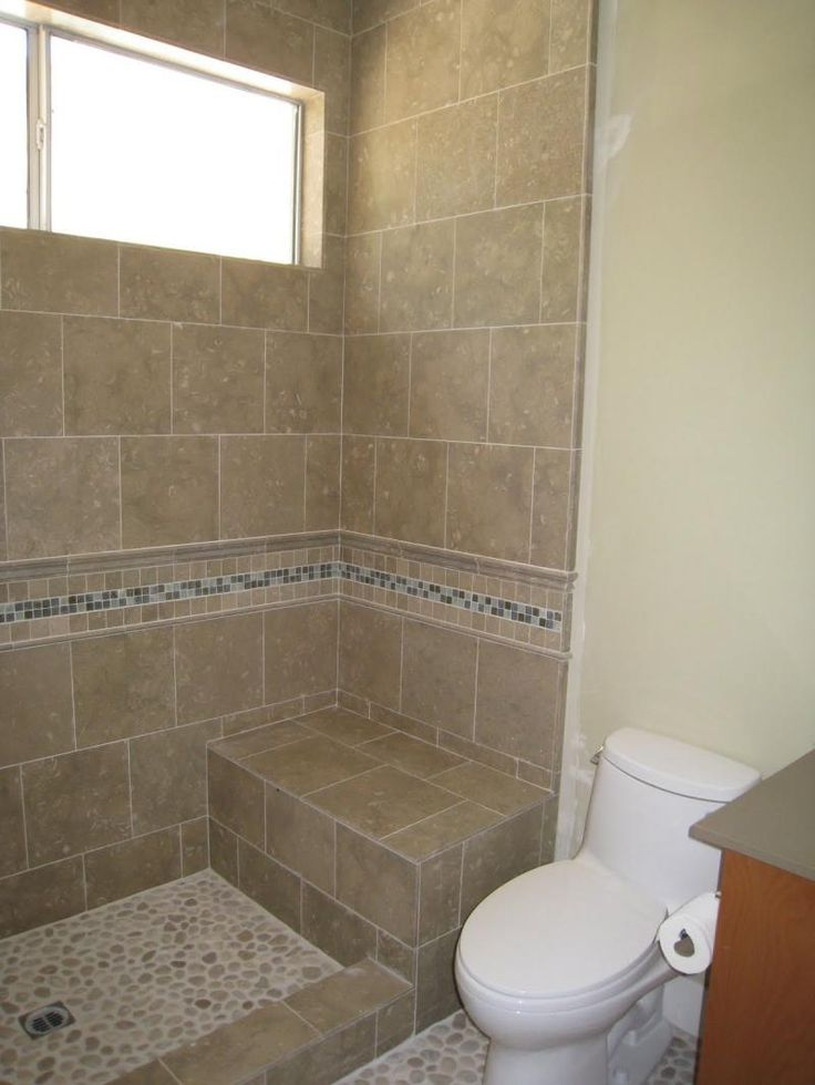 Image Doorless Walk In Shower Designs For Small Bathrooms Doorless ...