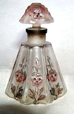 """c1913 """"Gaby"""" Avenel Perfume Scent Bottle by Julien Viard, 3-3/4""""h. #antique #vintage"""