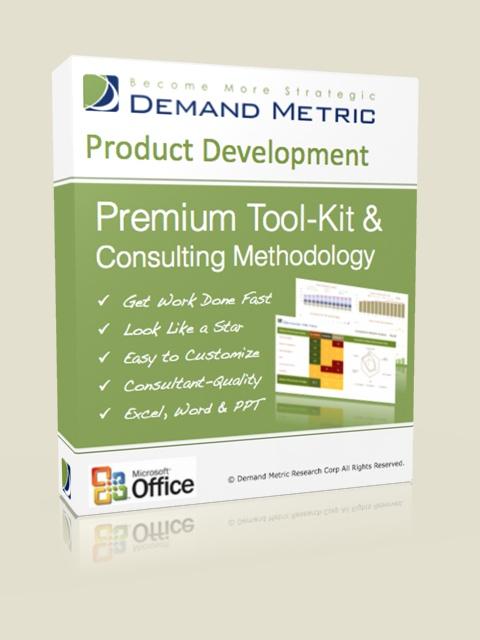 Product Development Plan Methodology & Premium Tool-Kit