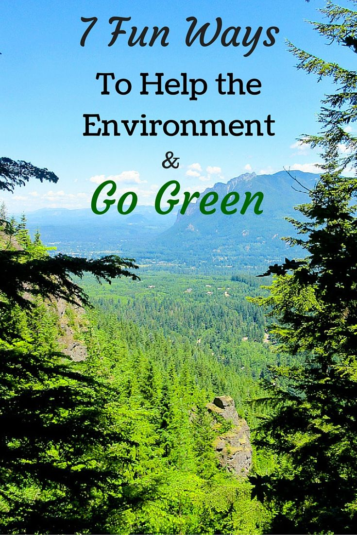 If we want to continue living in a world with fresh air, clean water, nourishing food and abundant nature and wildlife we have to play a role in preserving it. There are plenty of ways we can help the environment like conserving water and recycling but here are some ways to live green that you may not have thought of. via @livedreamdiscov