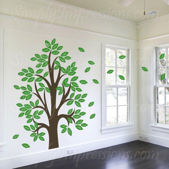 Fin och lärorik dekoration för de med talang.. 99 names of Allah Tree