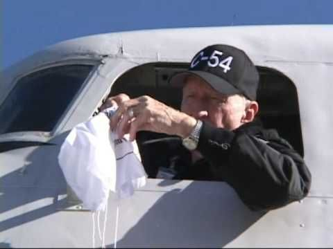 "Retired United States Air Force Colonel Gail Halvorsen (aka ""Uncle Wiggly Wings"" and ""Candy Bomber), recalls how the idea of dropping candy from his airplane..."