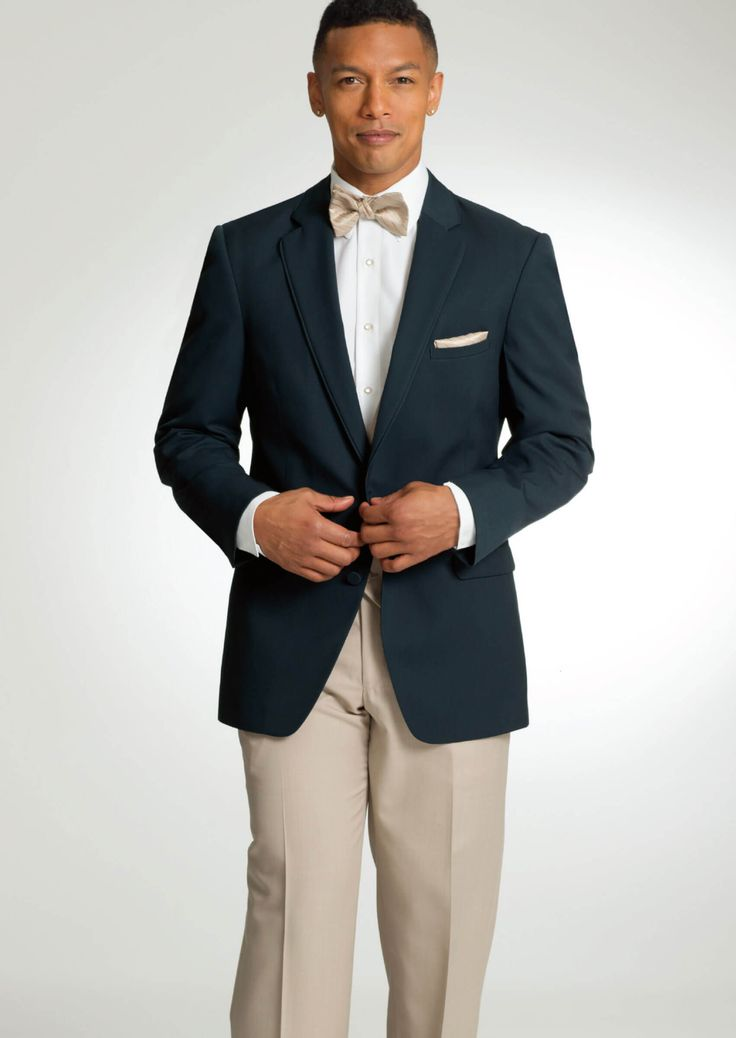 Slate Blue Bartlett Two Button Notch by Allure-Men - Tuxedos