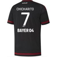 Bayer Leverkusen 2015-2016 Season CHICHARITO #7 Home Soccer Jersey [B807]