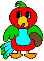 Parrot Paper Craft