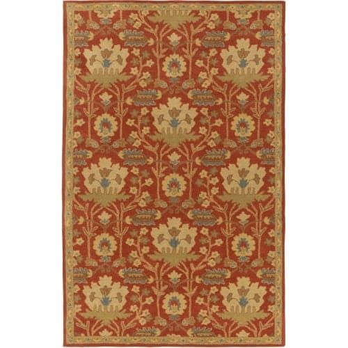 Surya CAE1159-7696 Caesar 8' x 10' Rectangle Wool Hand Tufted Traditional Area R - Red