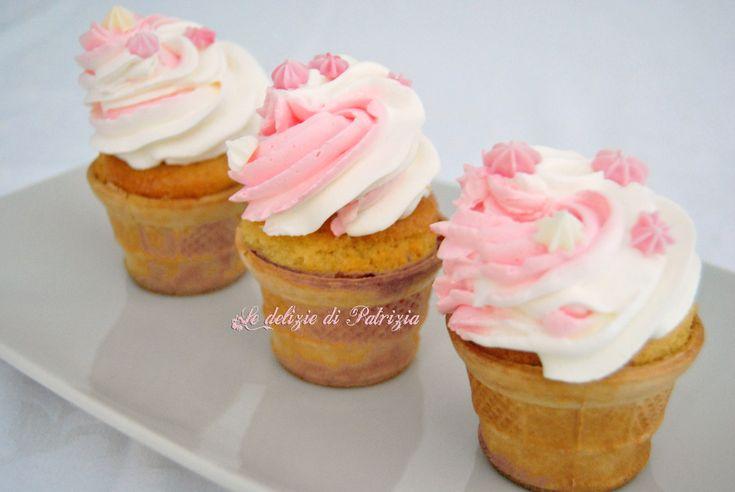 Muffins in cialda ©Le delizie di Patrizia Gabriella Scioni Ricette su: Facebook: https://www.facebook.com/Le-delizie-di-Patrizia-194059630634358/ Sito Web: https://ledeliziedipatrizia.com