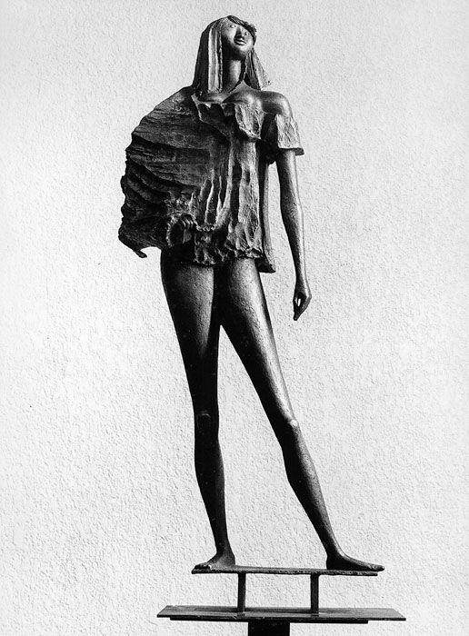 Marcello Mascherini :: Ragazza hippy (1970); Museum of Modern Art, Hiroshima, Giappone
