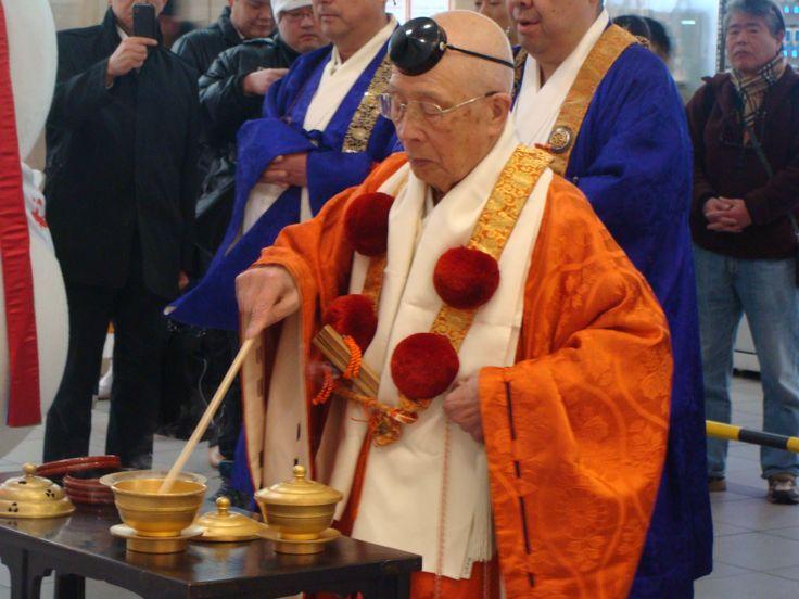 Modły odprawiane na jednej ze stacji w Osace
