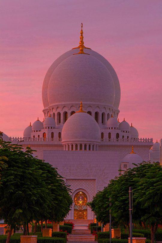 Mosque, Abu Dhabi