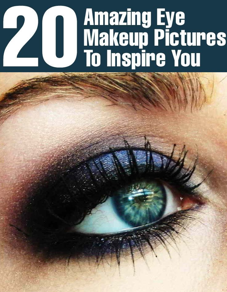 20 Amazing Eye Makeup Pictures To Inspire You:-  Eye makeup is a great way to make your eyes look more  look at some of the great eye makeup pictures that will leave you wanting  #eyemakeup